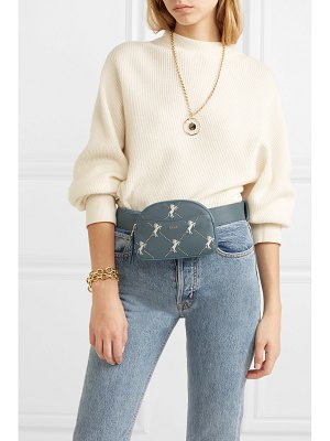 Chloe studded embroidered leather belt bag