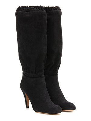 Chloe Suede knee-high boots