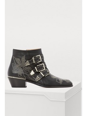 Chloe Susanna leather ankle boots