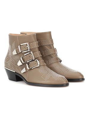 Chloe Susanna studded leather ankle boots