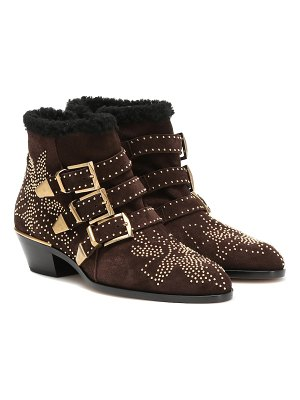 Chloe susanna suede ankle boots