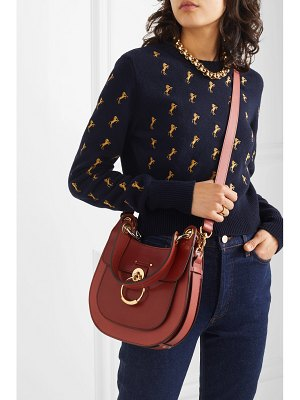 Chloe tess small leather shoulder bag