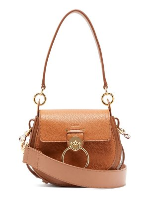 Chloe tess small grained-leather cross-body bag