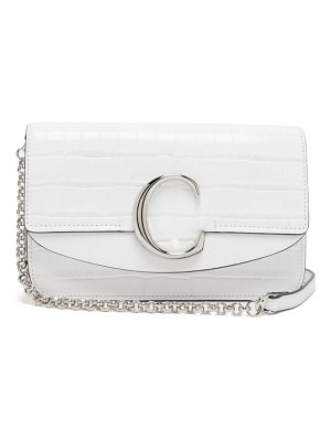 Chloe the c mini leather shoulder bag