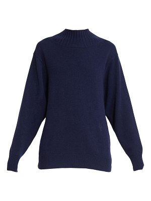 Chloe tie-back cashmere sweater