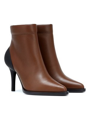 Chloe tracey leather ankle boots