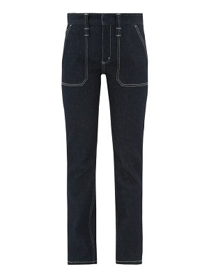 Chloe upcycled high-rise skinny-leg jeans