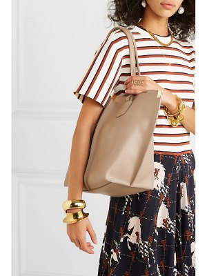 Chloe vick textured-leather tote