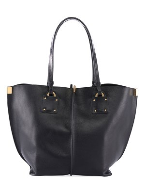 Chloe Vick Wide Leather Tote Bag