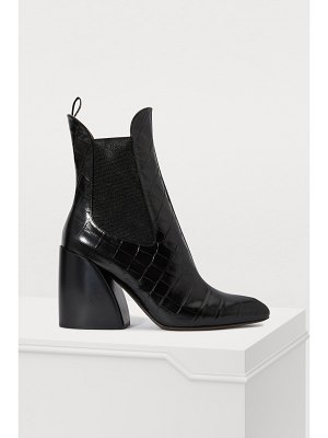 Chloe Wave ankle boots