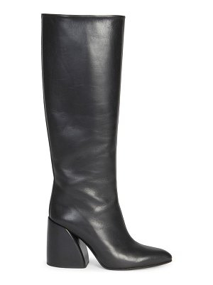 Chloe wave leather tall boots