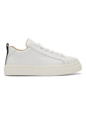 Chloe white lauren sneakers