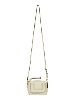 Chloe white mini marcie shoulder bag