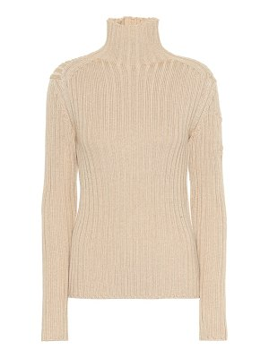 Chloe wool-blend turtleneck sweater