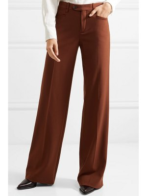 Chloe wool-blend wide-leg pants