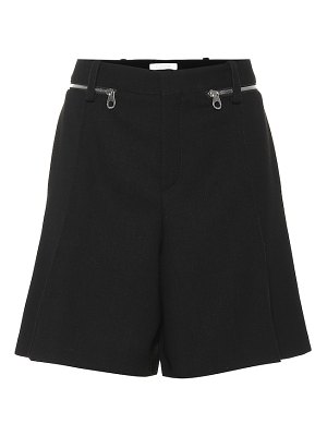 Chloe wool shorts