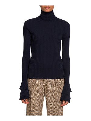 Chloe Wool Turtleneck Sweater