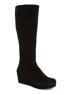 Chocolat Blu yiga knee high wedge boot