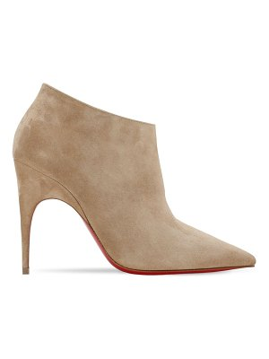 Christian Louboutin 100mm gorgona suede ankle boots