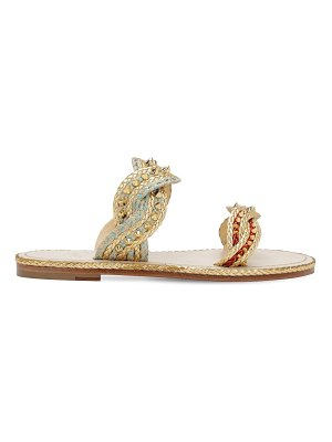 Christian Louboutin 10mm normandie rope sandals
