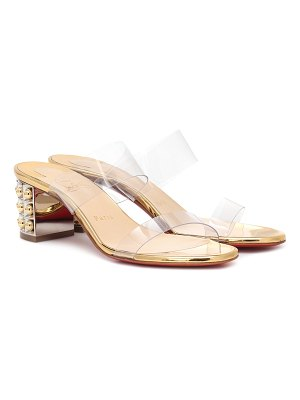 Christian Louboutin almost nothing 55 pvc sandals