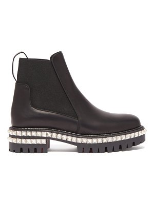 Christian Louboutin by the river studded leather chelsea boots