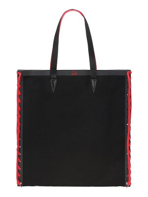 Christian Louboutin cabalace canvas tote
