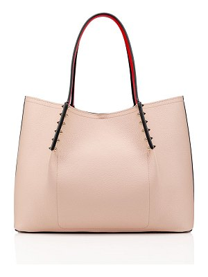 Christian Louboutin Cabarock Small Spike Red Sole Tote Bag