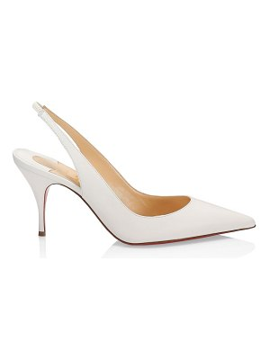 Christian Louboutin clare leather slingback pumps