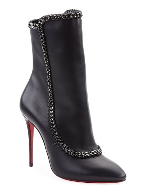 Christian Louboutin Clemence Red Sole Booties