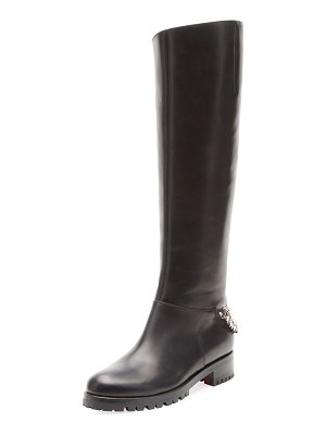 Christian Louboutin Croche Cate Red Sole Knee Boot