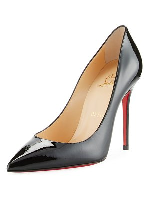 Christian Louboutin Decollette Pointed-Toe Red Sole Pumps
