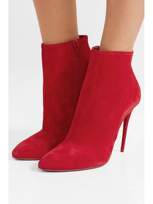 Christian Louboutin eloise 100 suede ankle boots
