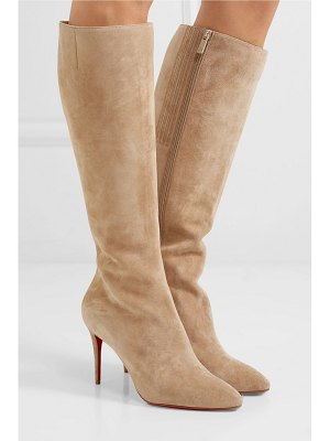 Christian Louboutin eloise 85 suede knee boots