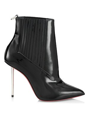 Christian Louboutin epic patent leather ankle boots