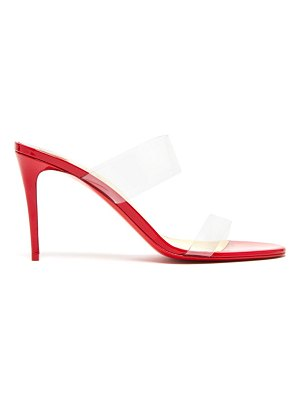 Christian Louboutin just nothing 85 mules