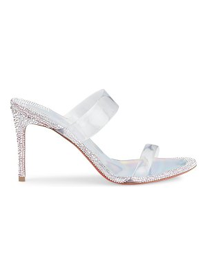 Christian Louboutin just strass pvc sandals