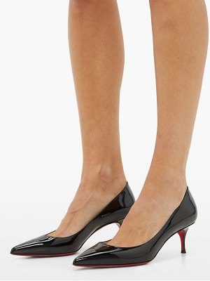 Christian Louboutin kate 55 patent leather pumps
