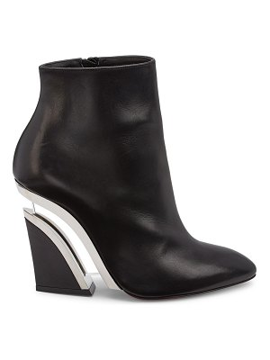 Christian Louboutin levitibootie leather ankle boots