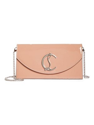 Christian Louboutin loubi54 leather clutch