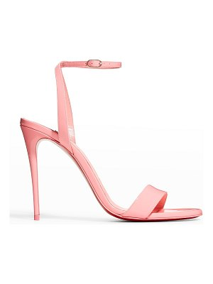 Christian Louboutin Loubigirl Ankle-Strap Red Sole Sandals