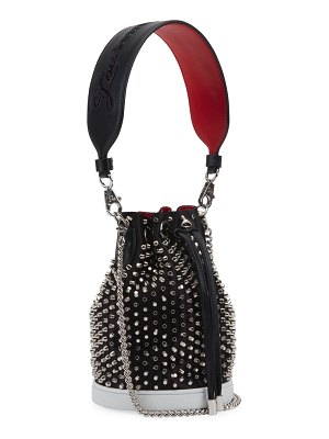 Christian Louboutin Marie Jane Loubirun Bucket Bag with Spikes