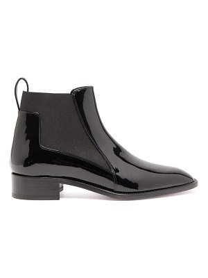 Christian Louboutin marmada patent-leather chelsea boots