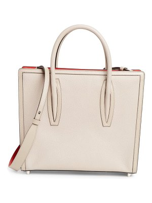 Christian Louboutin medium paloma calfskin leather satchel