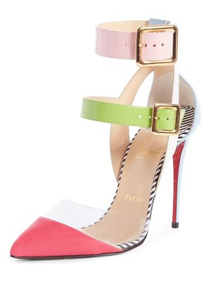 Christian Louboutin multimiss buckle sandal