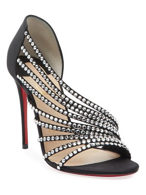 Christian Louboutin Norina Embellished Red Sole Sandals