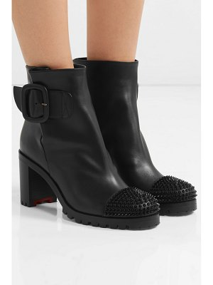 Christian Louboutin olivia snow 70 spiked leather ankle boots