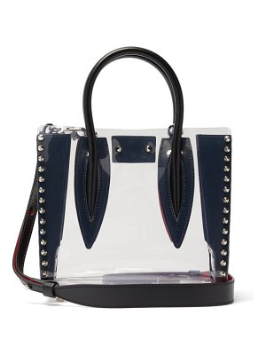 Christian Louboutin paloma mini spiked pvc tote bag