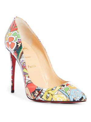 Christian Louboutin pigalle follies print pointed toe pump