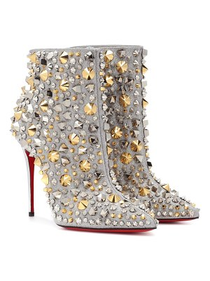 Christian Louboutin So Full Kate 100 leather ankle boots